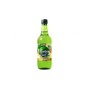 【まとめ買い】ポッカサッポロ お酒にプラス ライム 瓶 540ml x12個セット まとめ セット セット買い 業務用(代引不可)【送料無料】