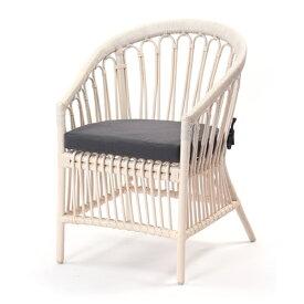 ホワイトラタン パーソナルチェア Breeze シリーズ C836WWM 家具 インテリア イス 椅子 パーソナルチェア(代引不可)【ポイント10倍】【送料無料】
