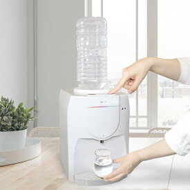 卓上 ウォーターサーバー 温水 冷水 ボトル ペットボトル 机上 ロック付き サーバー 給水 コンパクト 冷水器 温水器【ポイント10倍】【送料無料】