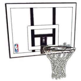 バスケットゴール 屋外用 SPALDING スポルティング NBAコンボ 79484CN バスケ バスケット マウンティングブラケット別売り(代引不可)【ポイント10倍】【送料無料】