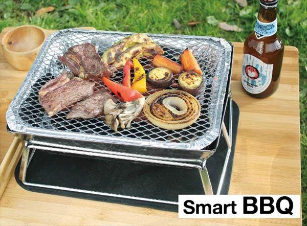 スマートフォールディングBBQコンロ インスタントグリル専用 小型 BBQ ピクニック キャンプ(代引不可)【送料無料】【ポイント10倍】