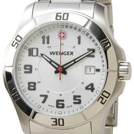 WENGER ウェンガー 腕時計 WEN70489 メンズ ALPINE ホワイト/シルバー【ポイント10倍】【送料無料】