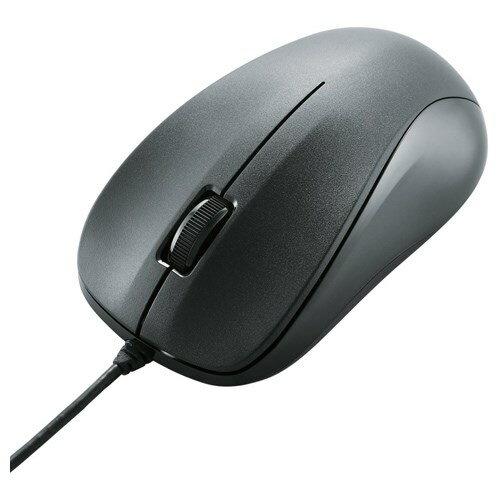 光学式マウス/USB/3ボタン/ブラック/ROHS指令準拠 エレコム M-K6URBK/RS(代引き不可)【ポイント10倍】