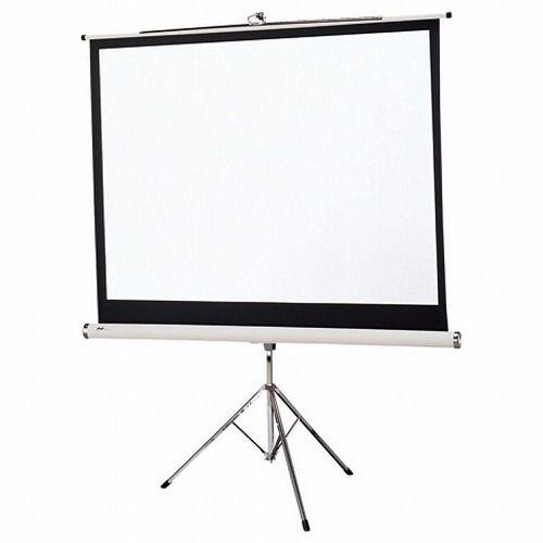 オーエス 三脚スタンドスクリーン 100型NTSC PT-100V_WG103(代引不可)【ポイント10倍】