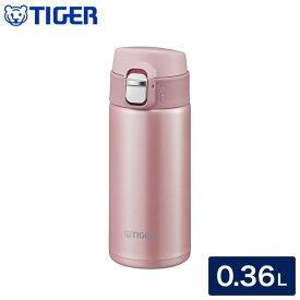 タイガー魔法瓶 ステンレスボトル 水筒 0.36L MMJ-A361 PB ピーチブロッサム 保温 保冷【ポイント10倍】