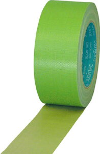 スリオン 養生用布粘着テープ50mm ライトグリーン【337200-LG-00-50X25】(テープ用品・養生テープ)