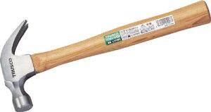 TRUSCO 釘抜きハンマー #3/4【TCWH-06】(ハンマー・刻印・ポンチ・くぎ抜きハンマー)