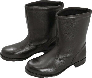 ミドリ安全 ゴム底安全靴 半長靴 V2400N 25.5CM V2400N25.5