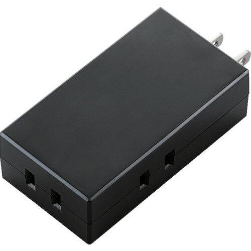 エレコム モバイルタップ 3個口 ブラック TTR062300BK【ポイント10倍】