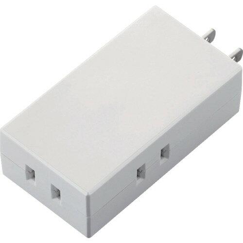 エレコム モバイルタップ 3個口 ホワイト TTR062300WH【ポイント10倍】