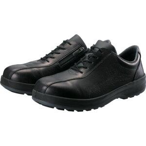 シモン 耐滑・軽量3層底安全短靴8512黒C付 26.0cm 8512C260【送料無料】