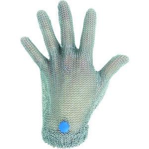 ミドリ安全 ステンレス製 耐切創クサリ手袋 5本指 WILCO-050 Lサイズ 1枚 WILCO050L【送料無料】