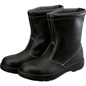 シモン 2層ウレタン底安全半長靴 AW44BK25.0【送料無料】