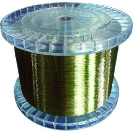 TRUSCO トラスコ 黄銅ワイヤー(エコノミータイプ) 0.2 5Kg巻 EWT0205【送料無料】【S1】