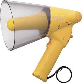TOA 小型ハンド型メガホン ホイッスル音付き【ER-1106W】(安全用品・標識・拡声器)【S1】