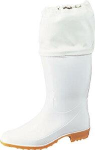 Achilles ホワイトカバー付衛生長靴 白 24.0cm【TSM 9550 W24.0】(安全靴・作業靴・長靴)