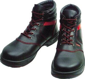 シモン 安全靴 編上靴 SL22−R黒/赤 26.0cm【SL22R-26.0】(安全靴・作業靴・安全靴)