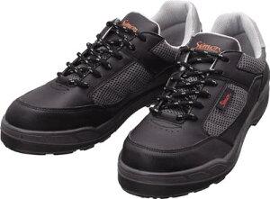 シモン プロスニーカー 短靴 8811ブラック 25.0cm【8811BK-25.0】(安全靴・作業靴・プロテクティブスニーカー)