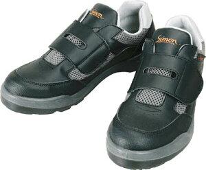 シモン プロスニーカー 短靴 8818ブラック 27.0cm【8818-27.0】(安全靴・作業靴・プロテクティブスニーカー)