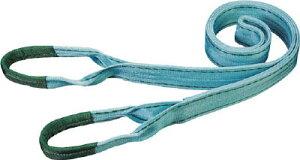 田村 ベルトスリング Pタイプ 3E 100×5.0【PE1000500】(吊りクランプ・スリング・荷締機・ベルトスリング)