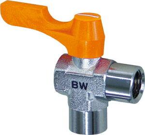 ASOH エースボール 内X内ネジ型 PT1/8XPF1/8【BW-3011】(流体継手・チューブ・ボールバルブ)