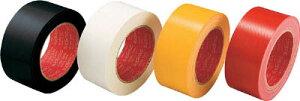 スリオン カラー布粘着テープ50mm ホワイト【343702-WH-00-50X25】(テープ用品・梱包用テープ)