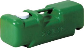 ミツギロン 注水式重石バリストン グリーン 510×165×高さ175【BS-G】(安全用品・標識・工事用フェンス)