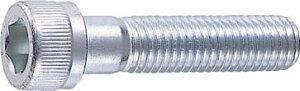 TRUSCO 六角穴付ボルトユニクロ 半ネジ サイズM6X65 14本入【B62-0665】(ねじ・ボルト・ナット・六角穴付ボルト)