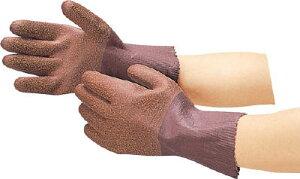 TRUSCO シームレス手袋 Lサイズ【DPM-2369】(作業手袋・天然ゴム手袋)
