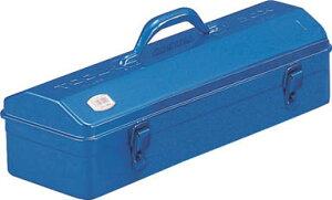 TRUSCO 山型工具箱 531X202X228.5 ブルー【Y-530-B】(工具箱・ツールバッグ・スチール製工具箱)【ポイント10倍】
