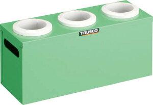 TRUSCO ツーリングケース NT・BT兼用 50用ホルダー3個 YG色【WNT50-3YG】(工場用保管設備・ツーリングラック)