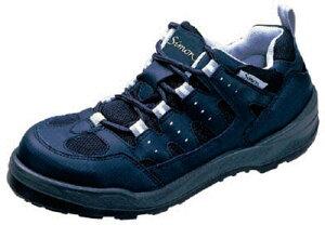 シモン プロスニーカー 短靴 8800紺 27.0cm【8800BU-27.0】(安全靴・作業靴・プロテクティブスニーカー)