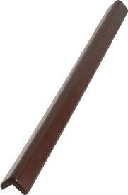 カーボーイ PUクッションL字型1000mm ブラウン【PU22】(安全用品・標識・安全クッション)
