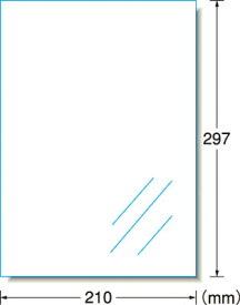 A−one 屋外用サイン吸着シート(レーザープリンタ)光沢フィルム・透明【31042】(安全用品・標識・安全標識)