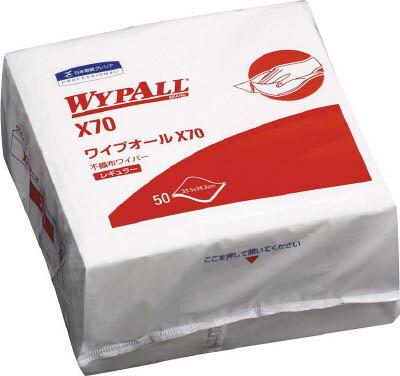 クレシア ワイプオールX70 4つ折り【60570】(清掃用品・ウエス)【ポイント10倍】