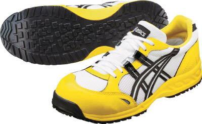 アシックス ウィンジョブ33L ホワイトXブラック 29.0cm【FIS33L.0190-29.0】(安全靴・作業靴・プロテクティブスニーカー)【ポイント10倍】