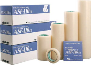 チューコーフロー 粘着テープ 0.23−50×10【ASF110FR-23X50】(テープ用品・保護テープ)