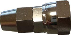 ハッコウ ソルベントホース専用継手 7.5X10.5φ用XG3/8メネジ【E-EM-75-G3/8-B】(塗装・内装用品・スプレーガン)