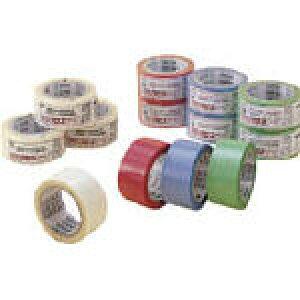 積水 透明クロステープ 緑【N78SG03】(テープ用品・梱包用テープ)