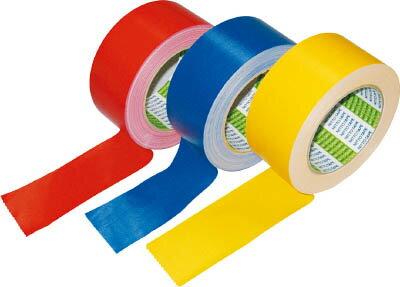 日東電工CS 布着色テープ No.756 50mm×25mm 赤【756-50 R】(テープ用品・梱包用テープ)【ポイント10倍】