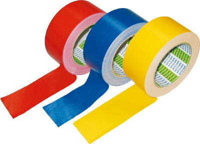 日東電工CS 布着色テープ No.756 50mm×25m 青【756-50 B】(テープ用品・梱包用テープ)【ポイント10倍】