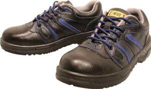おたふく 安全シューズ静電短靴タイプ 23.5cm【JW-753-235】(安全靴・作業靴・プロテクティブスニーカー)