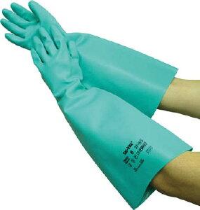 トワロン ソルベックス185(厚手ロング) M【185-M】(作業手袋・ニトリルゴム手袋)