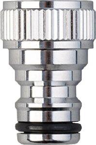 タカギ メタルネジ付蛇口ニップル【G312】(ホース・散水用品・ホース器具)