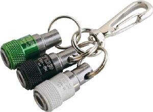 TOP 携帯用ソケットホルダー 3色セット(黒×緑×白)【ESH-BKGWN】(保護具・ツールロープ)
