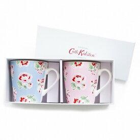CathKidston 616362 S 2 Mini Stanley Mugs Ashdown Rose マグカップ ニューボーンチャイナ ギフトボックス ミニマグ 2個セット【ポイント10倍】【送料無料】