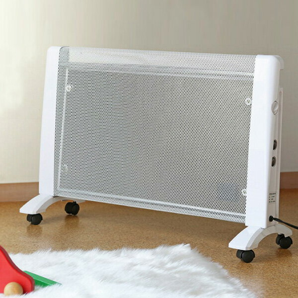 パネルヒーター 省エネ 遠赤外線 パネルヒーター RLC-MH1000 暖房器具 静音 軽量 パネルヒーター 【あす楽対応】【ポイント10倍】【送料無料】