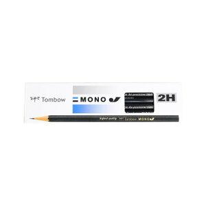 トンボ鉛筆 鉛筆 MONOJ 2H MONO-J2H 1ダース (MONO-J2H)