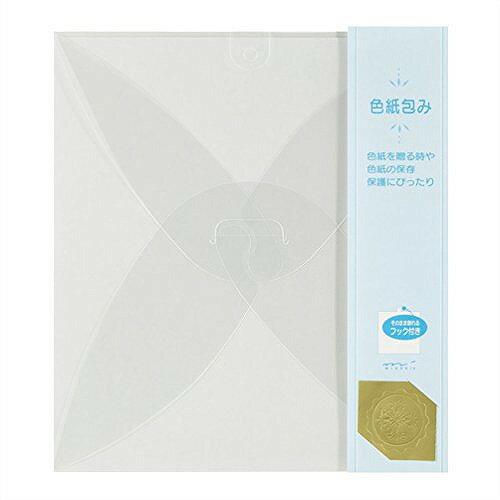 ミドリ カラー色紙包み透明 33037006【ポイント10倍】
