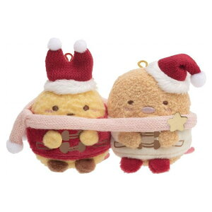 サンエックス すみっコぐらし なかよしてのりぬいぐるみ クリスマス えびふらいのしっぽ&とんかつ MY84201